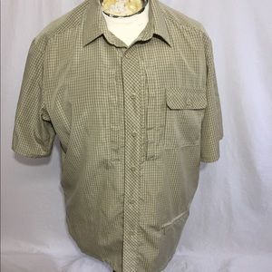 Propper Plaid Conceal Carry Shirt Sz XL
